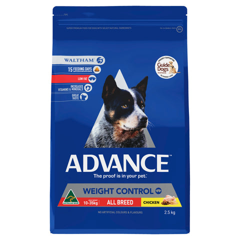 ADVANCE Adult Dog All Breed Dog Weight Control - Humble Pet Products