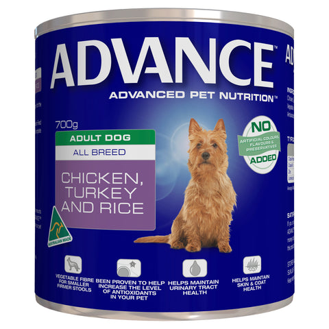 ADVANCE Adult Dog All Breed Chicken, Turkey and Rice - Humble Pet Products