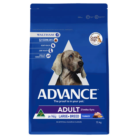 ADVANCE Adult Dog Total Wellbeing Large Breed Turkey 15kg