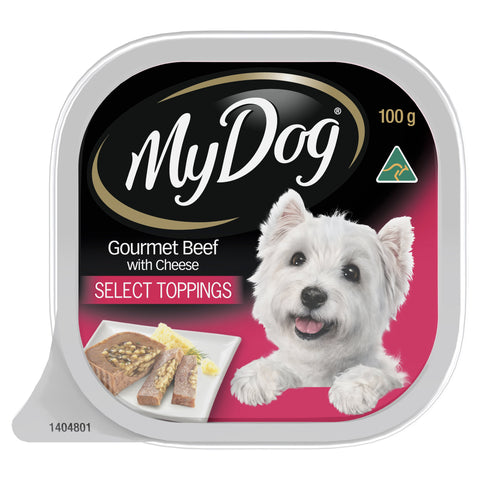My Dog Prime Beef & Cheese 100gx12