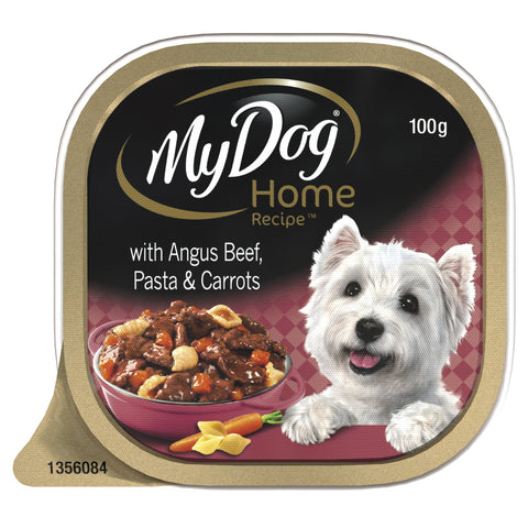 My Dog Home Recipe Angus Beef With Capsicum & Green Bean 100gx12