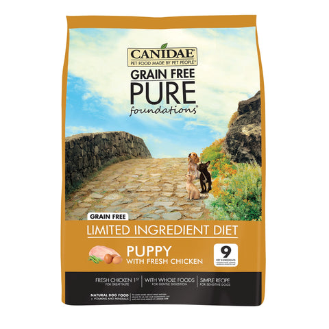 CANIDAE Pup Grain Free Pure FOUNDATIONS - Humble Pet Products