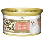 FANCY FEAST SAVOURY SALMON 24X85G