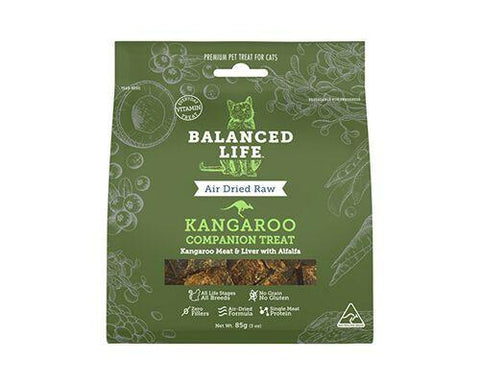 Balanced Life Companion Treat Kangaroo Cat 85g - Humble Pet Products