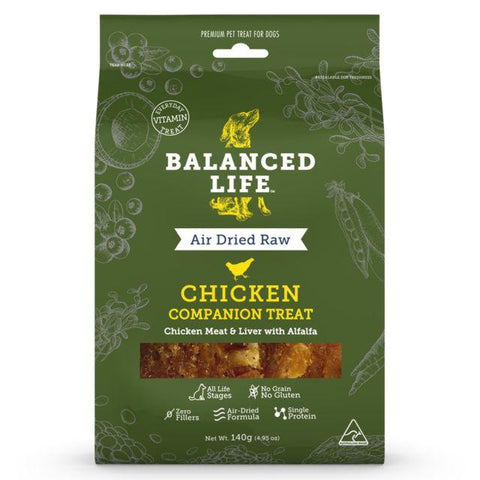 Balanced Life Companion Treat Chicken Dog 140g