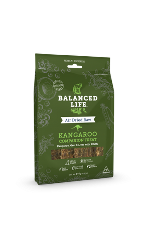 Balanced Life Companion Treat Kangaroo Dog 140g