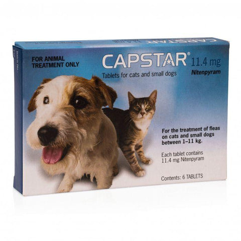 CAPSTAR FOR CATS & SMALL DOGS - Humble Pet Products