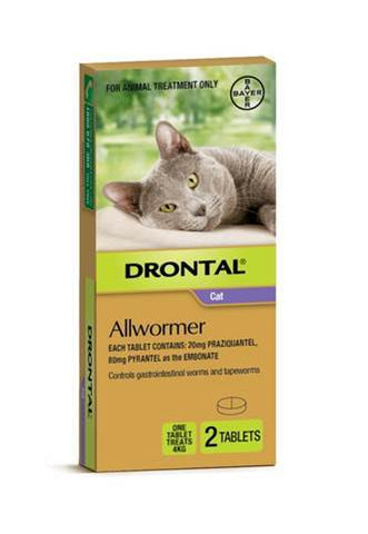 DRONTAL CAT ALLWORMER 4KG - Humble Pet Products
