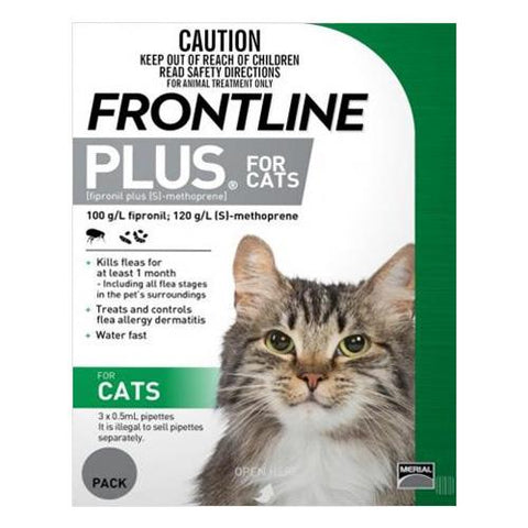 FRONTLINE PLUS CAT GREEN - Humble Pet Products