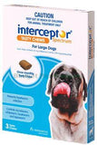 INTERCEPTOR LARGE DOG BLUE 22-45kg