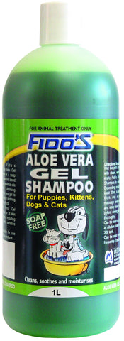 FIDO'S ALOE VERA SHAMPOO - Humble Pet Products