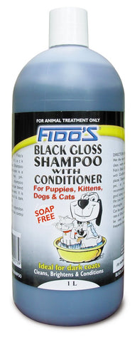 FIDO'S BLACK GLOSS SHAMPOO - Humble Pet Products