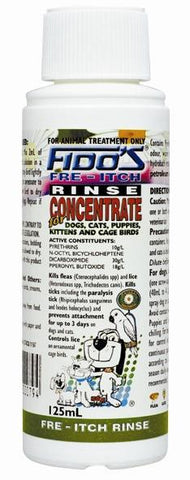 FIDO'S FRE-ITCH RINSE CONCENTRATE - Humble Pet Products