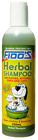 FIDO'S HERBAL SHAMPOO 250ml - Humble Pet Products
