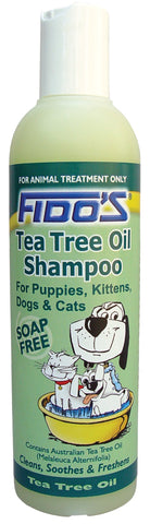 FIDO'S TEA TREE  OIL SHAMPOO 250ML - Humble Pet Products