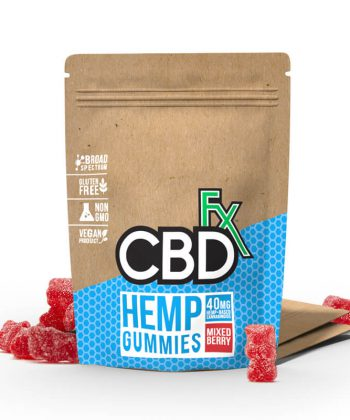 CBDFX HEMP GUMMY POUCH (8 PIECES)