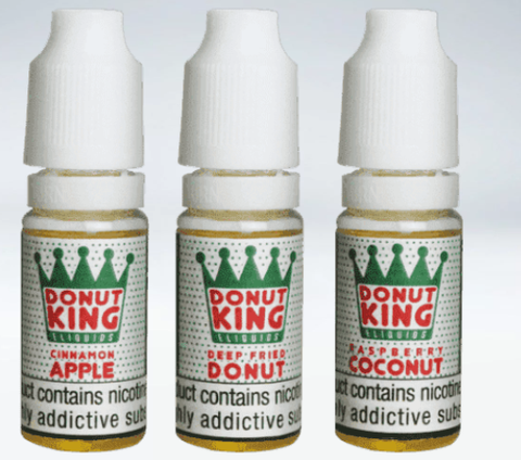 DONUT KING NIC SALT E-LIQUID 4 for £10