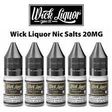 Wick Liquor Salt Nicotine Liquid 20mg