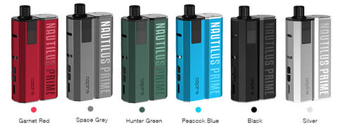 ASPIRE NAUTILUS PRIME POD KIT Plus 3 x 10ml Nic salts