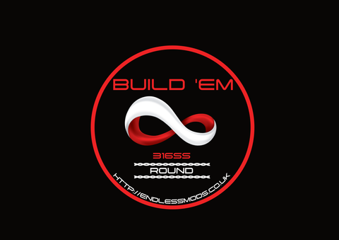SS 316L Round Wire by Build'EM
