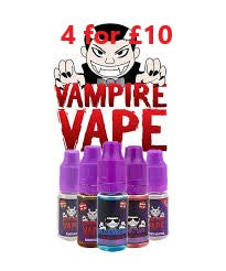 ATTRACTION- 10ML VAMPIRE VAPE E-LIQUID