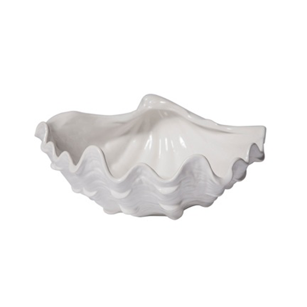 Ceramic Clam Shell Bowl