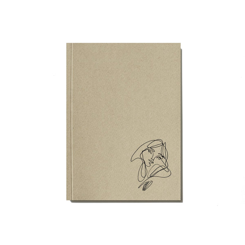 Elissa Barber x AOL Lined Paper Notebook