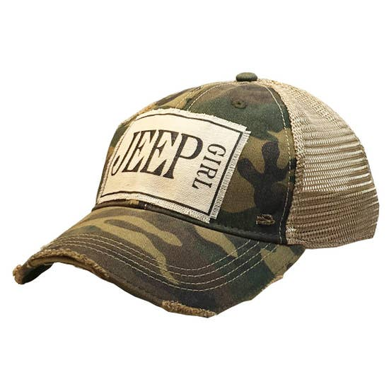 Jeep Girl Patch Hat