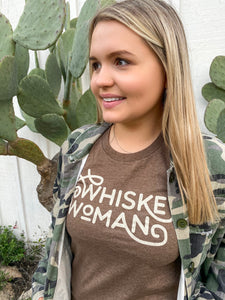 Whiskey Woman Tee
