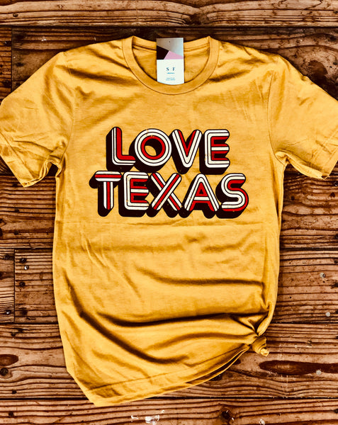 Love Texas Retro