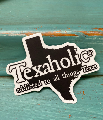 Texaholic®️State Sticker