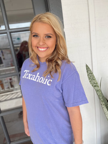 Texaholic® Comfort Colors Tee