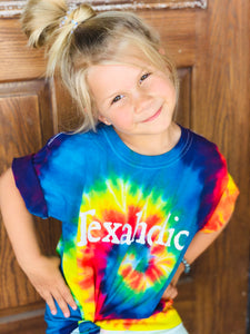 Texaholic® Youth Tie Dye