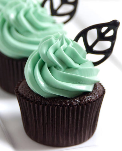 Simple Yet Sophisticated Classy Cupcake Ideas for Adults - Chocolate Mint
