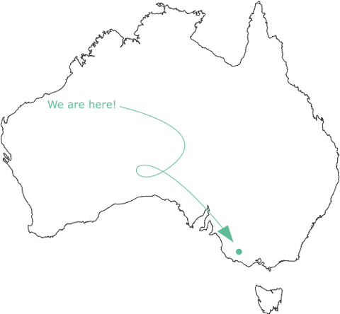 Cousin Billie Australian Map