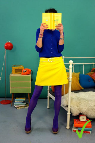 Cousin Billie | How to Wear Coloured Tights