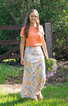 Floral Maxi Skirt | Pastel | Fun and Feminine Women's Fashion Online Australia