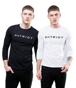 PATRIOT ATHLETICS Longsleeve Schwarz M/W