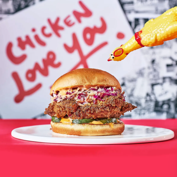 Chicken Love You: la locura del pollo frito