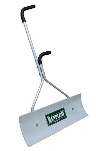 Manplow 32 Inch Wishbone Snow Shovel with Revolution Blade