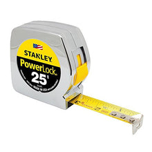 Load image into Gallery viewer, Stanley 33-425 Powerlock 25-Foot by 1-Inch Measuring Tape - Original