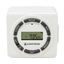Load image into Gallery viewer, Lightkiwi H5576 Digital Timer for Low Voltage Landscape Lighting Transformer