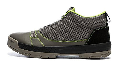 Kujo Yardwear Lightweight Breathable Yard Work Shoe Grey/Green 8.5 D(M) US Men / 10 B(M) Women