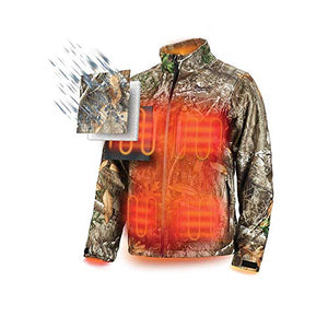 Milwaukee Heated Jacket M12 12V Lithium-Ion Front and Back Heat Zones - Battery and Charger Not Included