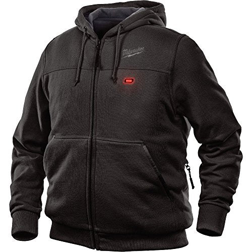 Milwaukee Hoodie M12 12V Lithium-Ion Heated Jacket Front and Back Heat Zones - Battery Not Included - All Sizes and Colors