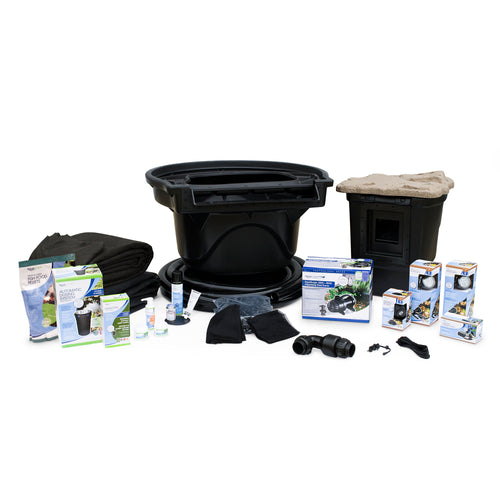 Large Pond Kit 21' x 26' with AquaSurgePRO 4000-8000 Pump