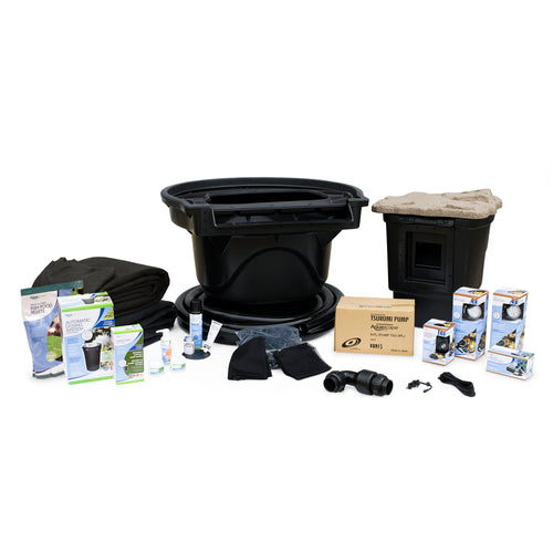 Large Pond Kit 21x26 with 9-PL 7000 Pond Pump