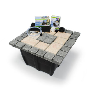 Bubbling Formal Mosaic Fountain Kit