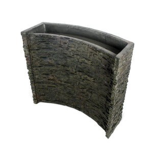 Stacked Slate Spillway Wall Landscape Fountain Kit - 32-inch