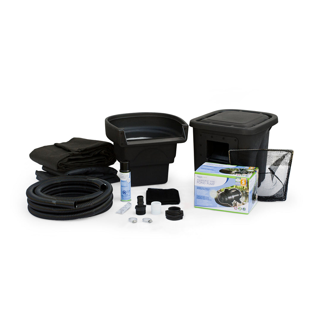 DIY Backyard Pond Kit - 6' x 8'